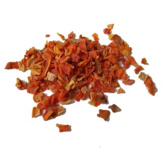 Möhre 1kg - gesunde Ergänzung aus der Natur - mit natürlichen Antioxidantien - für ernährungssensible Tiere geeignet
